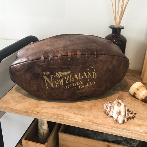 Moana Rd rugby ball toilet bag.