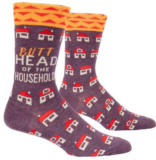 Blue Q men's socks - Butthead of the household