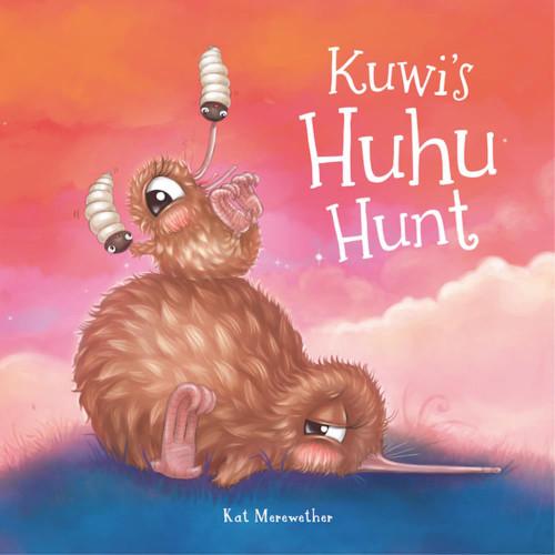 Kuwi's Huhu Hunt. Illustrated story book.