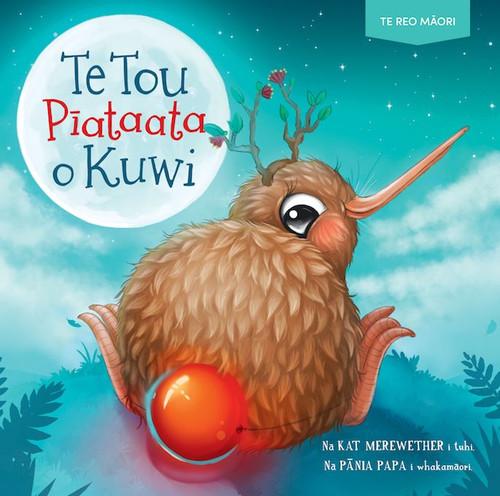 Te Tou Piataata o Kuwi, Kuwi's Very Shiny Bum, Te Reo Maori story book.