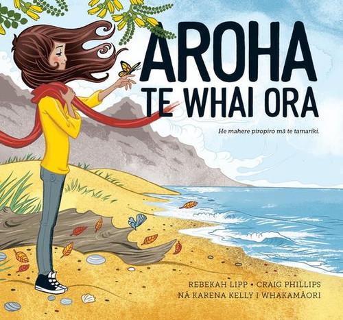 Aroha Te Whai Ora illustrated story book.