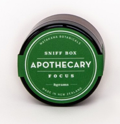 sniff box, focus formula, matakana botanicals, made in NZ,