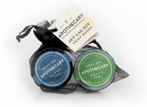 Sniff box, matakana botacicals, made in NZ, jet lag,