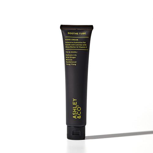Ashley & Co soothe tube moisturising hand cream, made in NZ, Tui and Kahili,