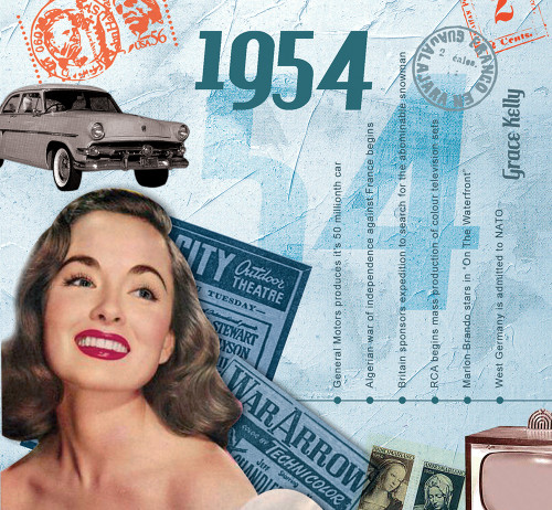 CD card 1954