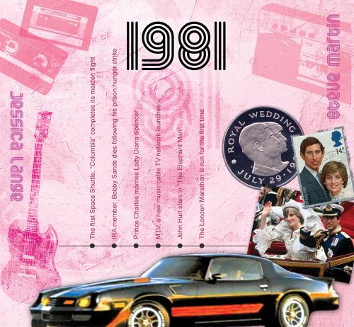 CD card 1981