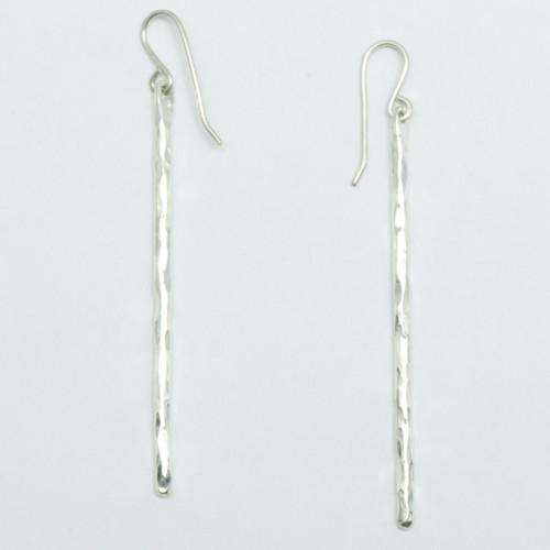 Whiti earrings, sterling silver, justin ferguson,