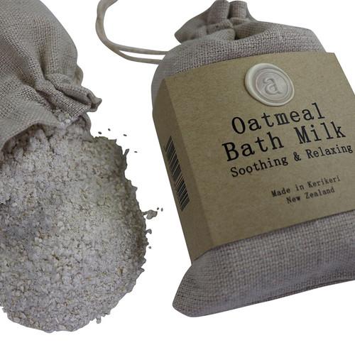 Oatmeal bath milk, Anoint Skincare.