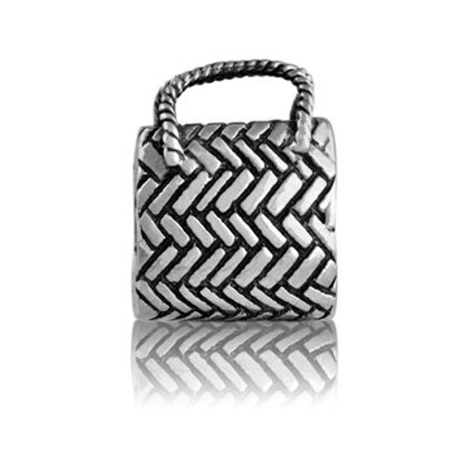 Sterling silver kete charm from Evolve New Zealand.