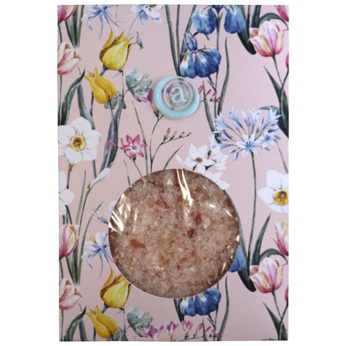 Pink bath salts, Anoint Skincare,