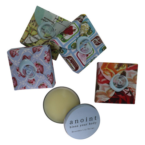 Beeswax lip balm, Anoint /skincare,