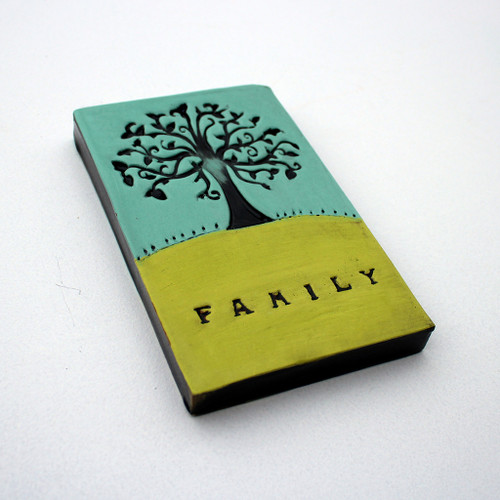 Family Tree ceramic tile from the Monster Company.