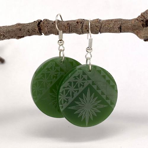 Malu resin earrings from SoNZ.
