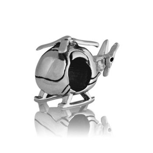Sterling silver chopper charm from Evolve New Zealand.