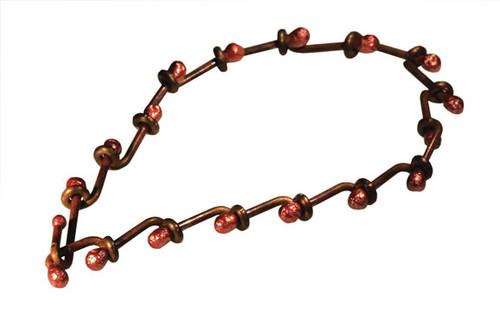 copper lava bracelet by NZ jewellery designer Nick Feint, Stone Arrow
