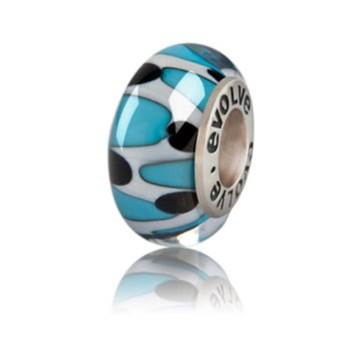 Auckland murano glass charm from Evolve New Zealand.