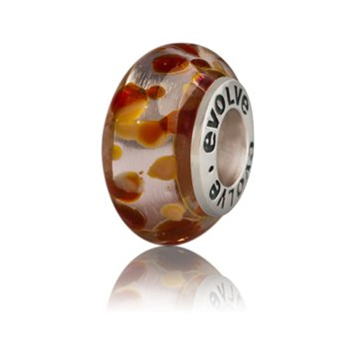 Arrowtown murano glass charm from Evolve New Zealand.