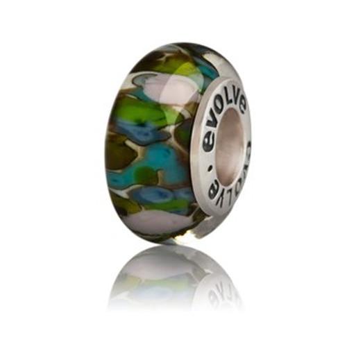 Fiordland murano glass charm from Evolve New Zealand.