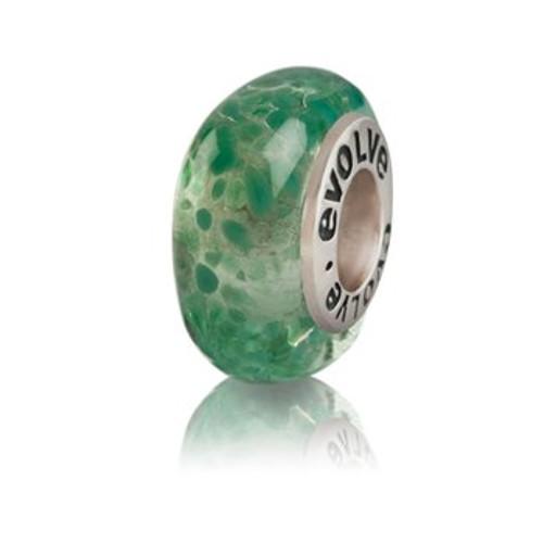 Hanmer Springs murano glass charm from Evolve New Zealand.