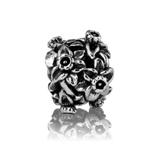Sterling silver Daffodils charm from Evolve New Zealand.