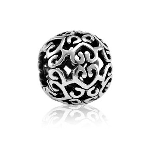 Sterling silver together charm from Evolve New Zealand.