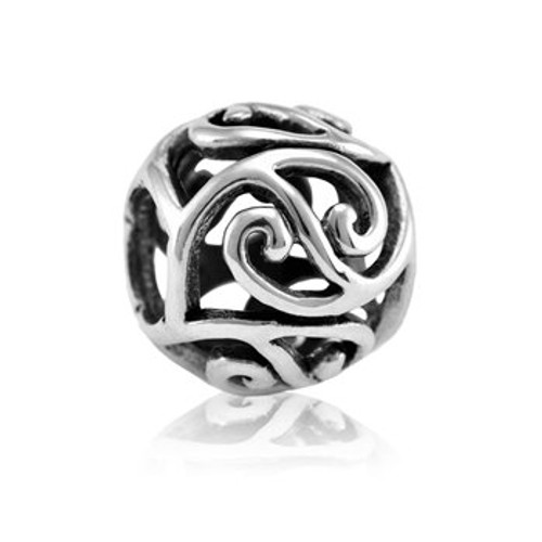 Sterling silver friendship charm from Evolve New Zealand.