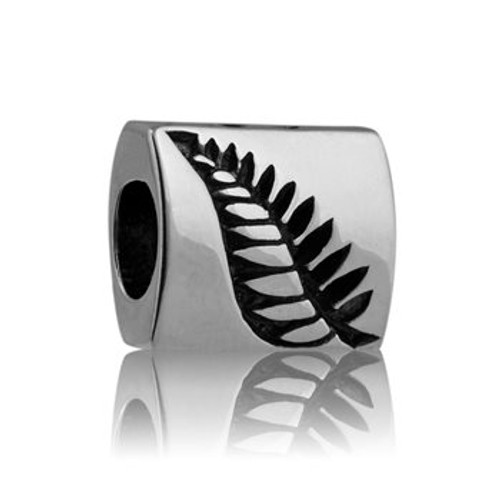 NZ fern sterling silver charm from Evolve New Zealand.