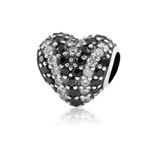 Heart of stars gemstone charm from Evolve New Zealand.