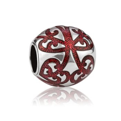 My family tree, ancestry, sterling silver and red enamel charm from Evolve New Zealand.