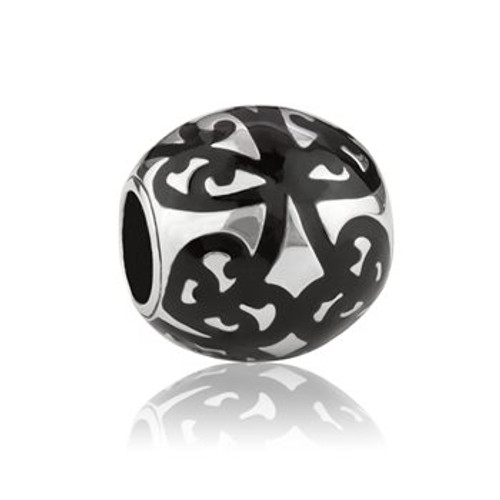 My family tree sterling silver and black enamel charm from Evolve New Zealand.