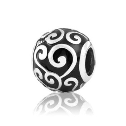 Universe, friends and family, sterling silver and enamel charm from Evolve New Zealand.