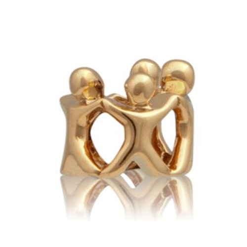 Family circle, whanau, 9ct gold charm from Evolve New Zealand.