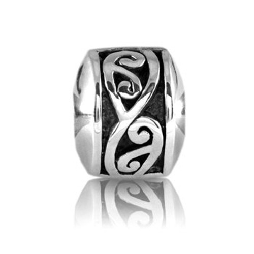 Sterling silver continuum stopper from Evolve New Zealand.