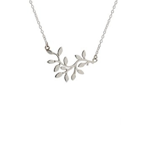 Sterling silver wishing tree necklace from Evolve New Zealand.