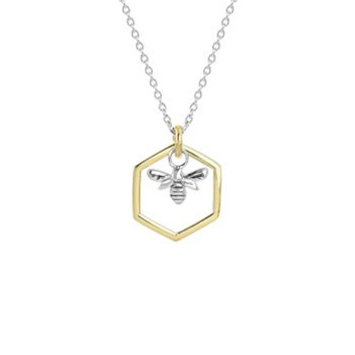Honey bee necklace from Evolve New Zealand.