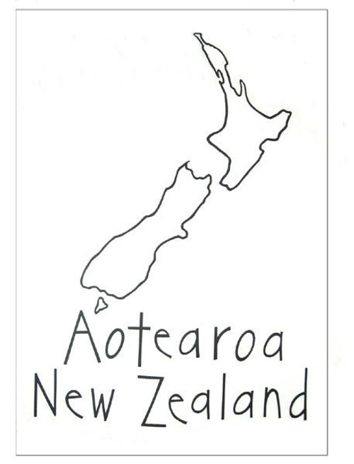 100% cotton tea towel featuring a NZ map design from Moa Revival New Zealand.