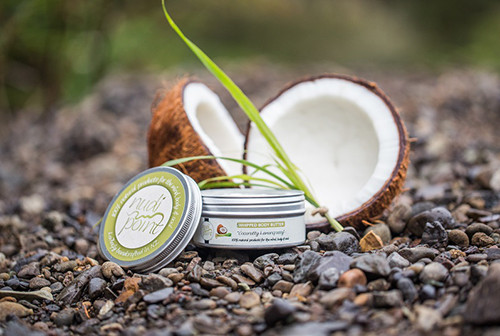 Coco-nutty Lemon-grassy whipped body butter from Nudi Point.