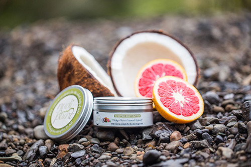 Pinky Citrus Coconut Splash Whipped Body Butter from Nudi Point.