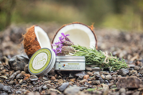 Nutty-Coco Lavender-Loco whipped body butter from Nudi Point.