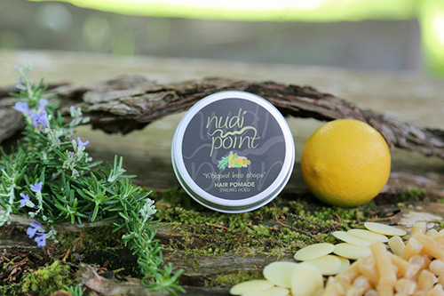 Whipped into shape hair pomade from Nudi Point.