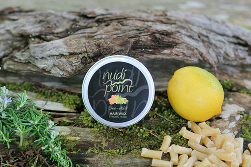 Bee-hold hair wax  from Nudi Point.
