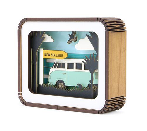 kamper, kombi, combi, ian blackwell, art block, story box, rimu frame, rimu,