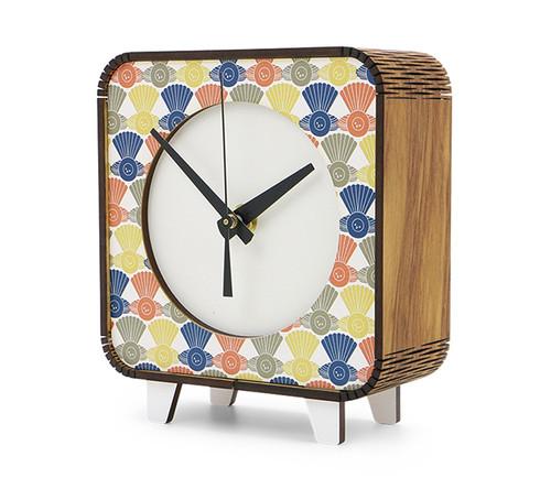 pop clock, kiwiana, retro, ian blackwell, clock, mantle clock, fantail.