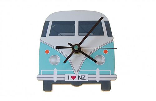 mini clock, clock, ian blackwell, kiwiana, made in nz, kamper, kombi, combi.