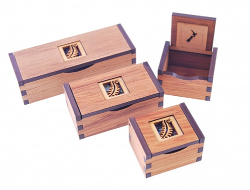 chatter box, rimu box, ian blackwell, made in NZ, fern.