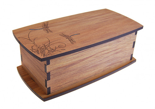 my favourite things, jewellery box, rimu, paua, ian blackwell, made in NZ, engraved, dragonfly,