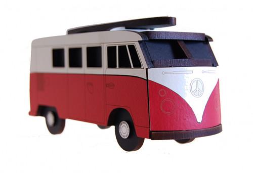 Box clever, kombi, rimu, Ian Blackwell, made in NZ, red.