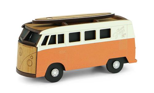 Clever box, box clever, kombi, rimu, Ian Blackwell,  made in NZ, orange,.