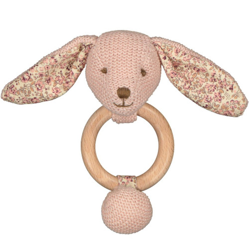 Beatrix bunny teether, Lily and George.
