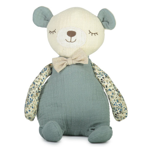 Billie Bear soft toy, Lily and George.